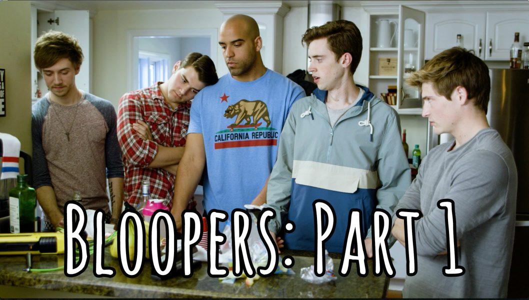 Assista aos erros de gravação da série 'Roommates'