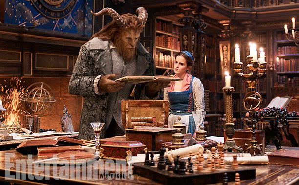 A Bela e a Fera: Primeiras imagens oficiais do filme são divulgadas