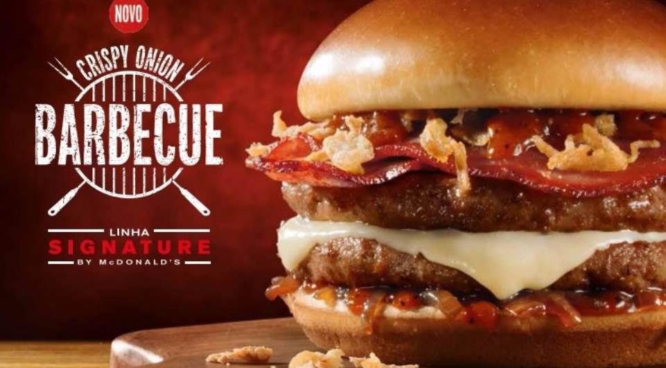 5 motivos para provar o novo Crispy Onion Barbecue do McDonald's