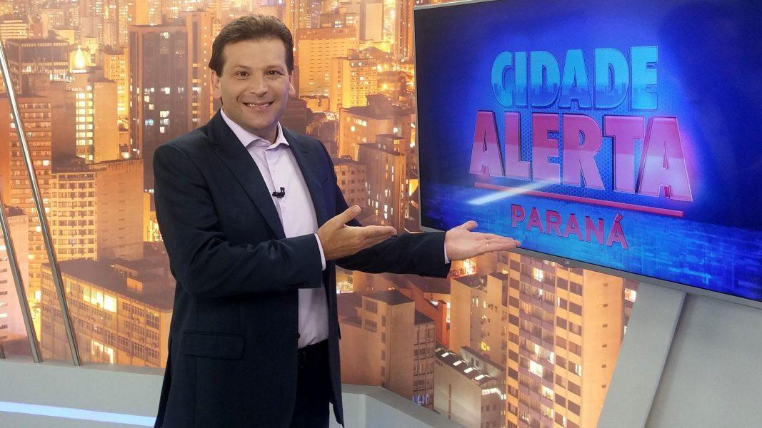 Cidade Alerta Paraná, da RICTV/RecordTV, tem novo cenário