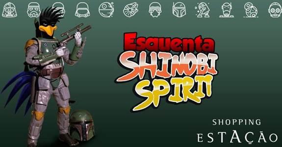 Shopping Estação recebe esquenta Shinobi Spirit neste fim de semana
