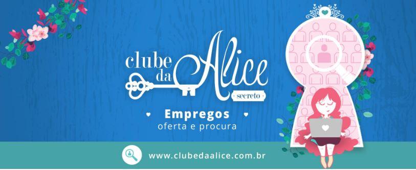 Empregos - Clube da Alice