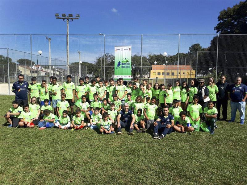 Projeto esportivo 'Maestro da Bola' tem vagas disponíveis e gratuitas para crianças e adolescentes