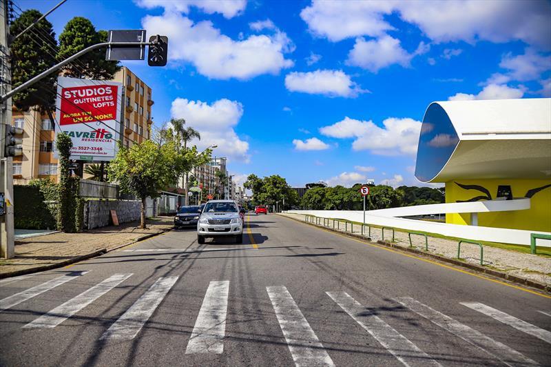 Trânsito em Curitiba: Ahú e Juvevê ganham novo binário