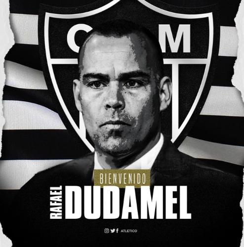 Rafael Dudamel é oficializado como novo treinador do Atlético-MG