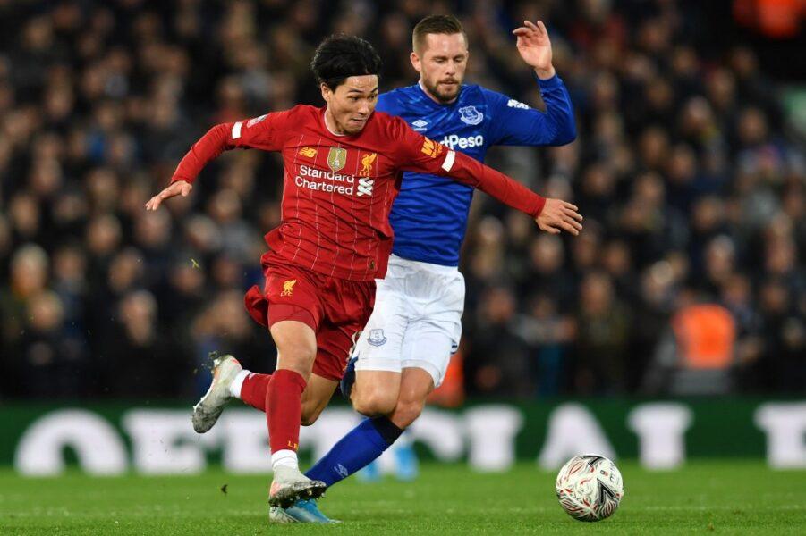 Confira fotos do clássico entre Liverpool e Everton pela Copa da Inglaterra