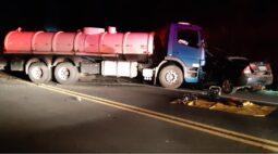 Motorista morre em colisão frontal na Rodovia do Xisto