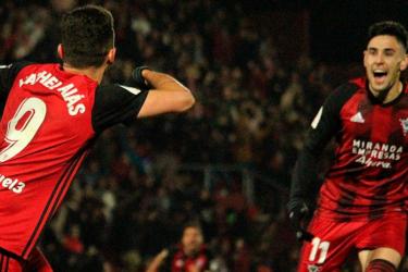 Mirandés surpreende e elimina o Villarreal na Copa do Rei