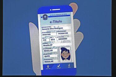 E-título: aplicativo pode substituir o título de eleitor convencional