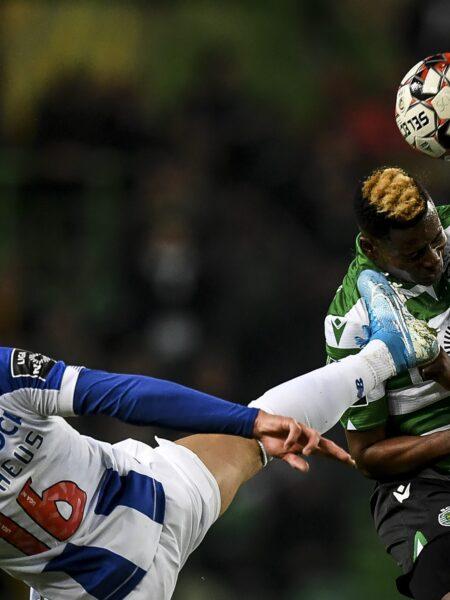 Veja fotos do clássico entre Sporting e Porto