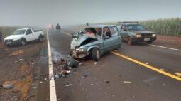 Idoso morre em colisão frontal no Paraná