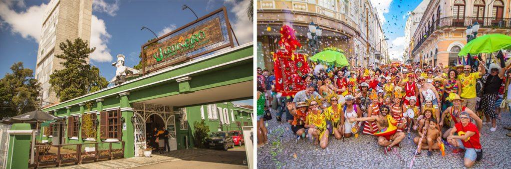 Garibaldis e Sacis realiza pré-carnaval no restaurante 'O Jardineiro'