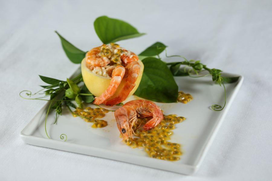Receita de sucesso: risoto de camarão e maracujá, de Sonia Bacelar