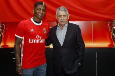 Benfica anuncia o colombiano Yony González, ex-Fluminense