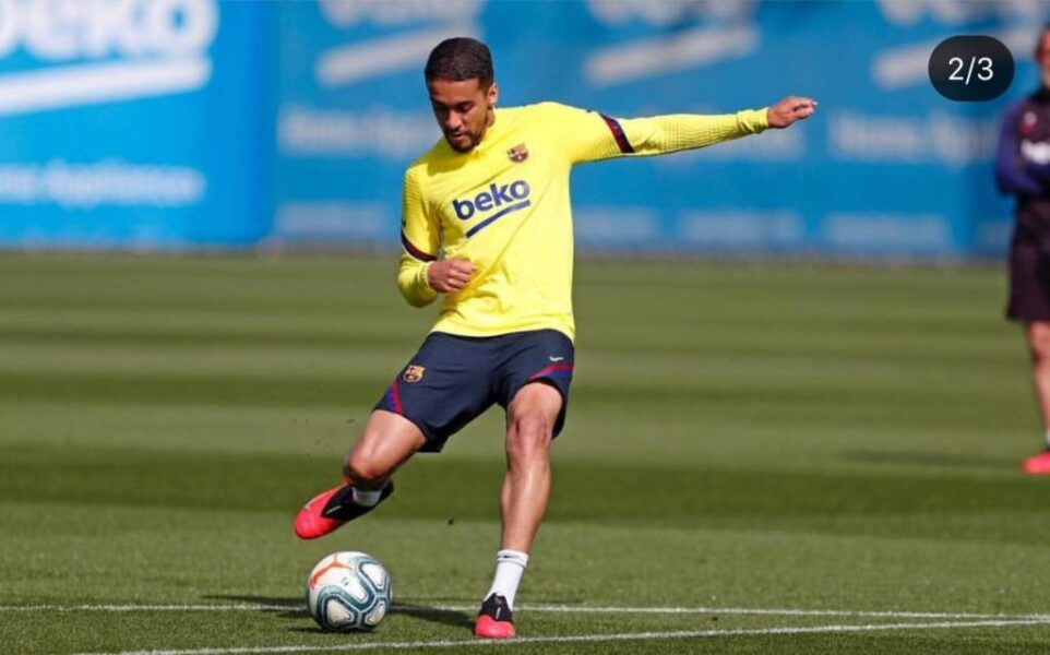 Revelado pelo Corinthians, Matheus Pereira fala sobre volta aos treinos no Barcelona