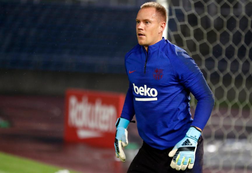 Barcelona avança nas negociações para renovar com Ter Stegen