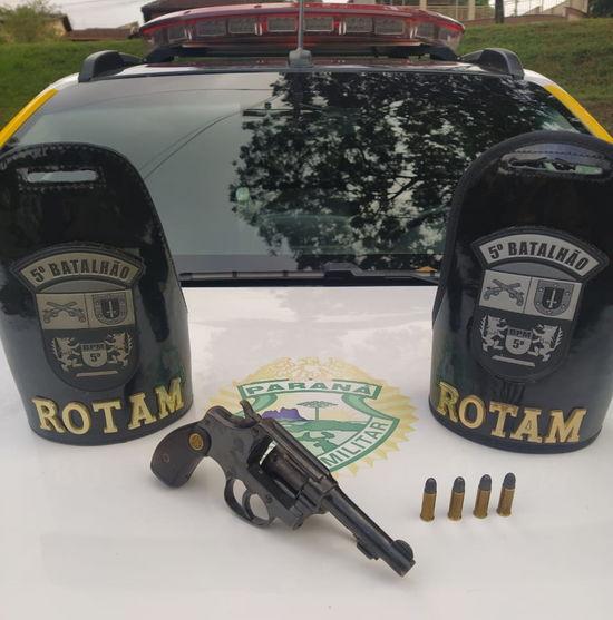 Marginal morre em confronto com a ROTAM no Paraná