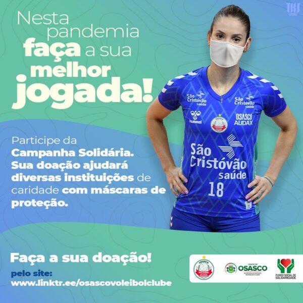 Osasco Audax/São Cristóvão Saúde intensifica luta contra covid-19 com ação solidária