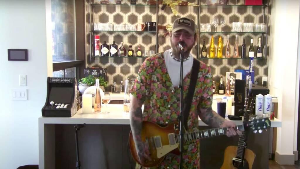 Live em tributo ao Nirvana de Post Malone arrecada 24 milhões de Reais