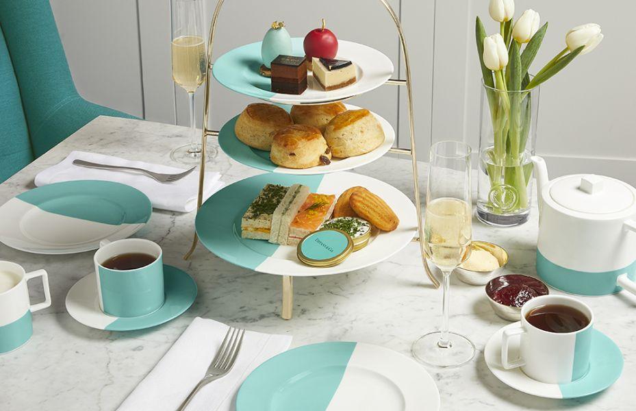 BLUE BOX CAFE: Tiffany and Co. abre o luxuoso café em Londres!