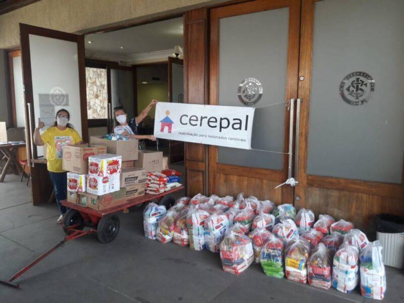 Inter arrecada 150 cestas básicas para ajudar a combater o coronavírus