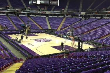 Sacramento Kings cobrou aluguel do governo para transformar arena em hospital