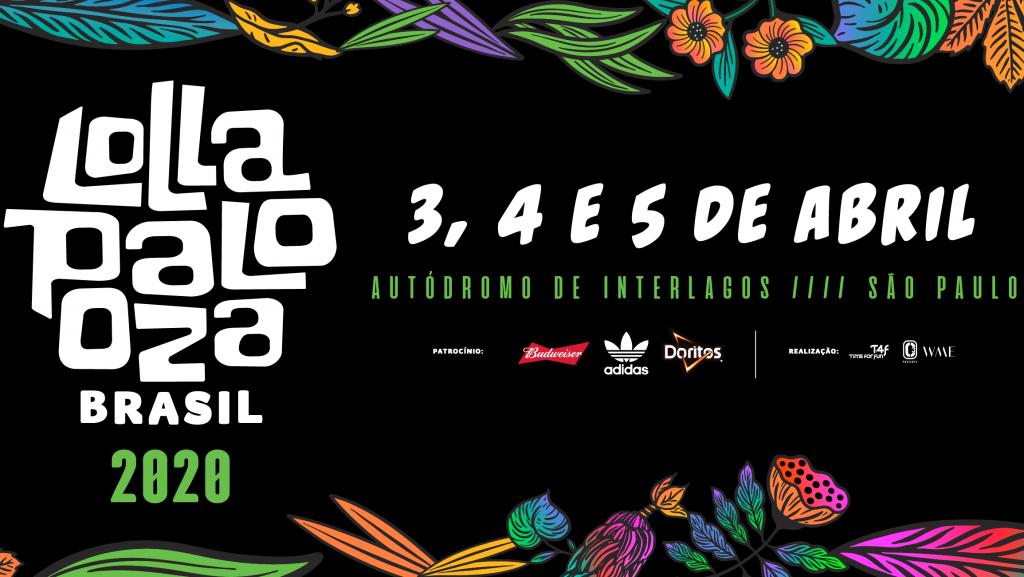 Lollapalooza 2020 – Programação por dia de festival