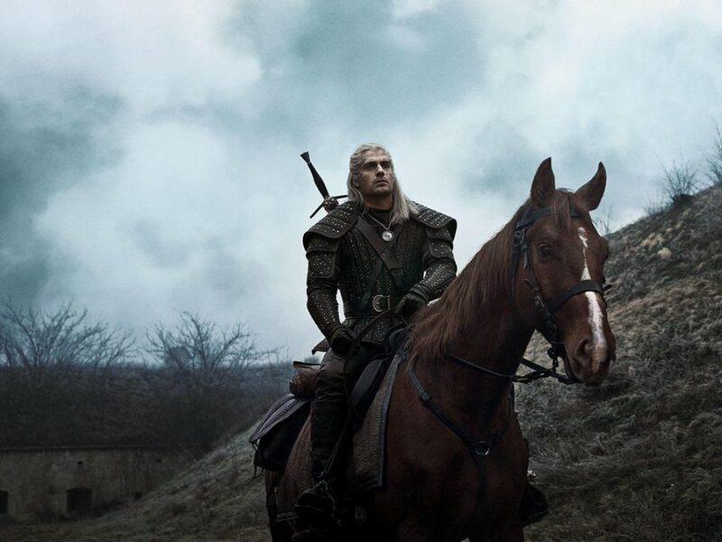 Nova imagem da série 'The Witcher' traz o cavalo Carpeado