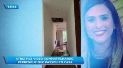 Tatá Werneck faz vídeo compartilhando perrengue que passou em casa