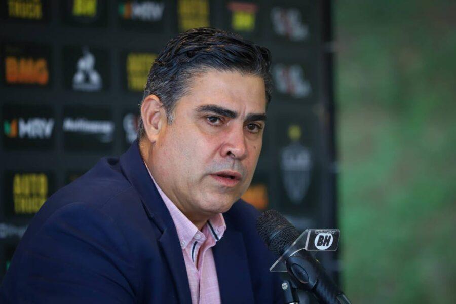 Presidente do Atlético-MG crê em título importante ainda em seu mandato