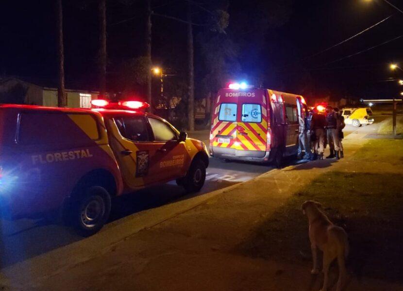 Ação rápida da ROTAM salva a vida de vítima esfaqueada no pescoço em Piraquara