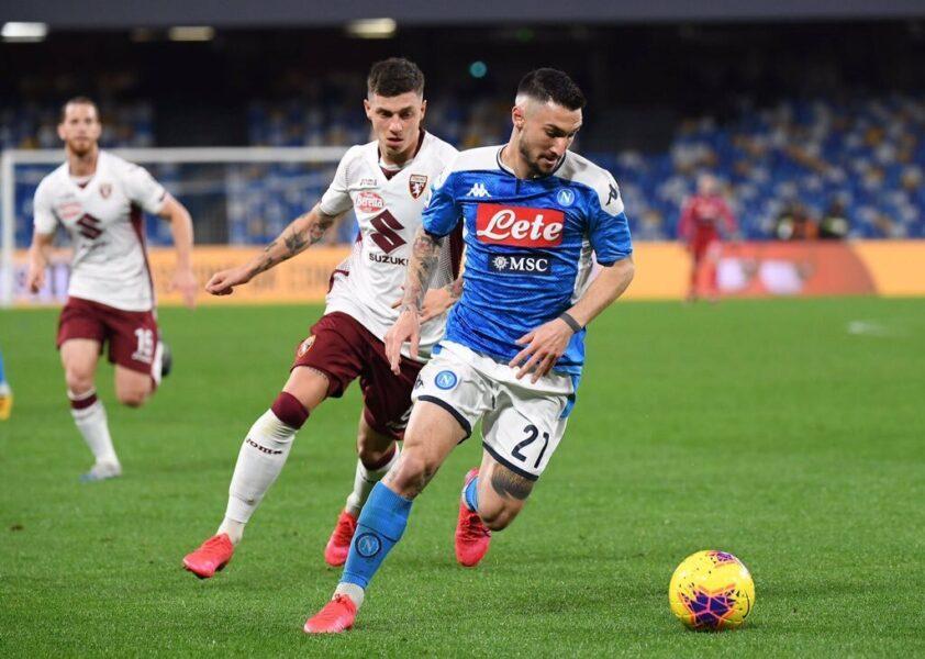 Napoli vence Torino em casa e segue firme na briga por vaga na Liga Europa