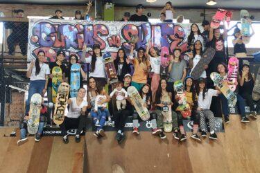 Grupo de skate feminino apresenta conversa ao vivo em redes sociais