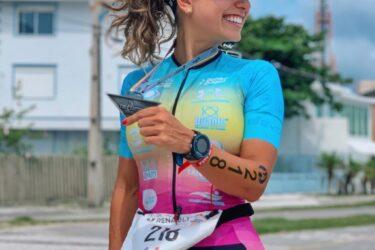 Bora treinar! Paranaense Paola Carrijo revela alguns segredos sobre conciliar vida, treinos e provas