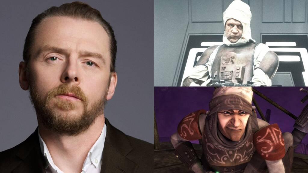 Star Wars – Simon Pegg quer reviver papel de Clone Wars em The Mandalorian
