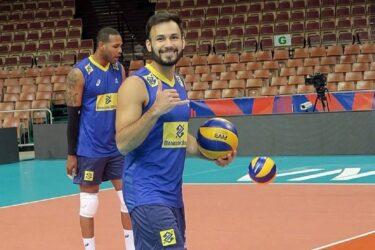 Levantador Thiaguinho afirma estar pronto para jogar na Polônia