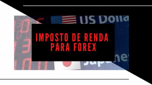 Imposto de Renda para Forex