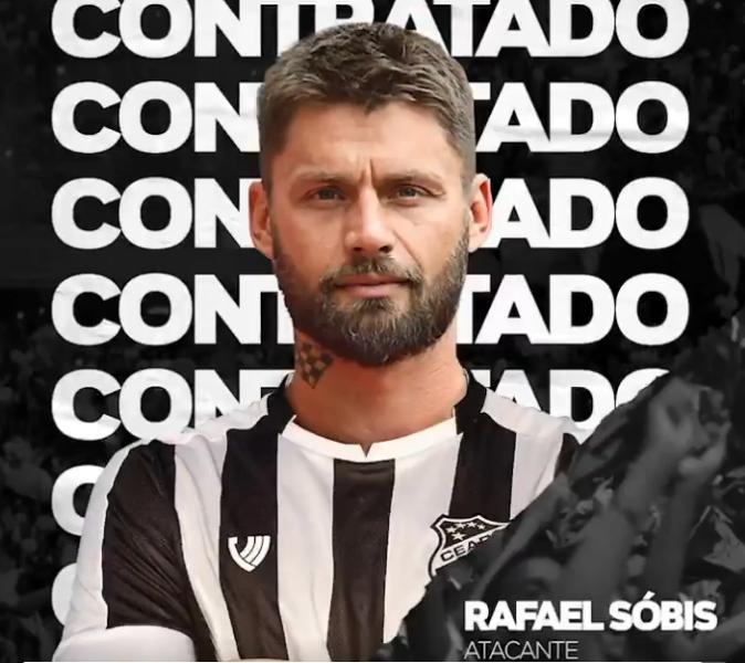 Ceará anuncia a contratação de Rafael Sóbis para 2020