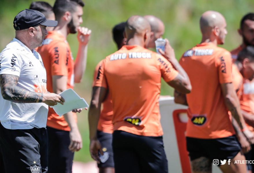 Sampaoli faz estreia pelo Atlético-MG contra o Villa Nova