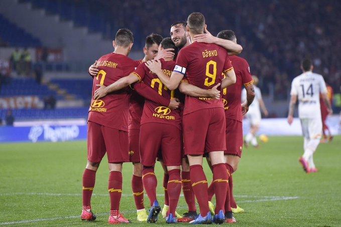 Roma bate Lecce e volta a vencer no Campeonato Italiano