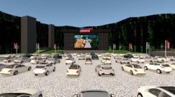 Planeta Drive-in: Pedreira Paulo Leminski vira uma grande arena de entretenimento drive-in