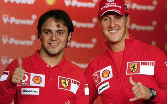 Felipe Massa revela que sabe do quadro de saúde de Schumacher