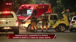 Homem é morto a tiros na zona Oeste de Curitiba