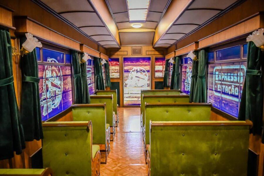 Curitiba ganha Expresso Estação, uma experiência imersiva e histórica pela ferrovia do Paraná