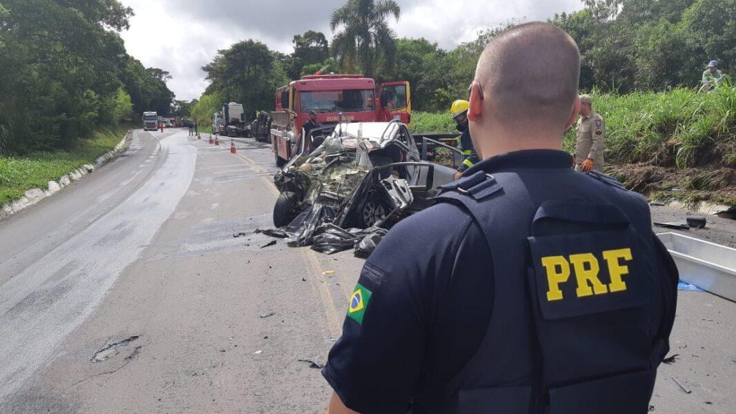 Vítimas fatais de acidente na Lapa são pai, mãe e filho
