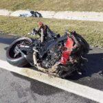 De moto, soldado da PM atropela pedestre e os dois morrem na hora na BR-116