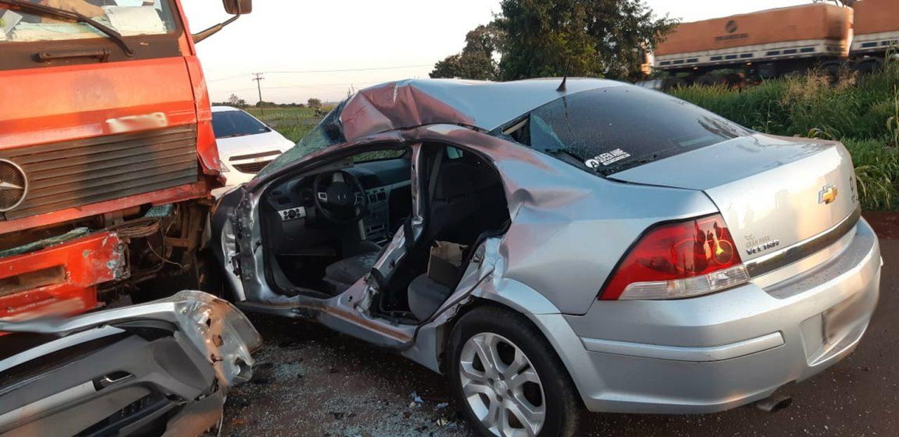acidente toledo br-163