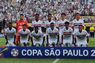 São Paulo fica no empate com o Operário-PR na estreia da Copinha
