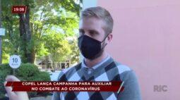 Copel lança campanha para auxiliar no combate ao coronavírus