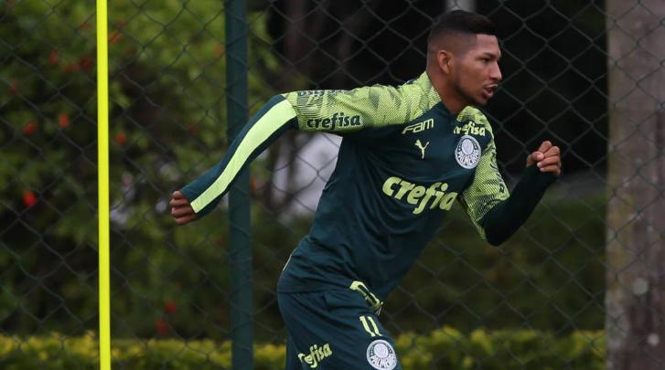 Rony diz que Palmeiras pode voltar aos treinos na segunda, mas clube não confirma
